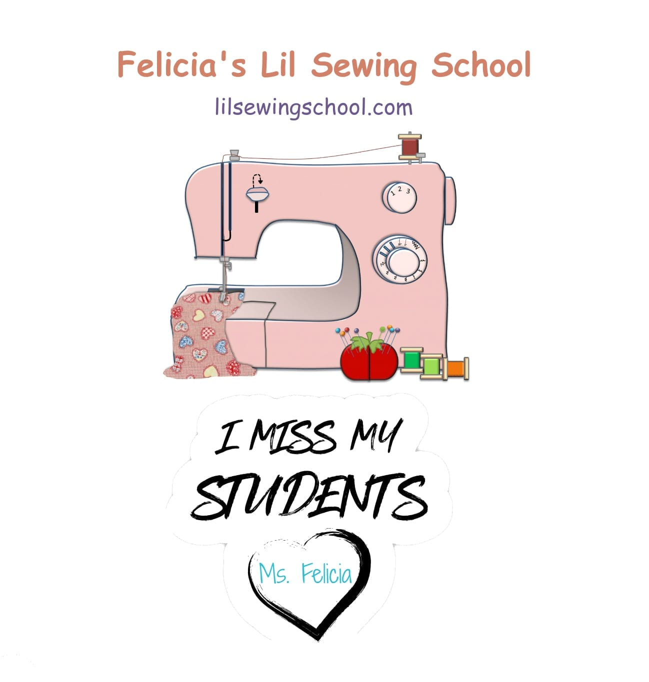 Lil Sewing School – I miss my students