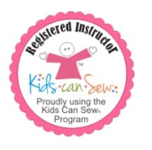 Registerd Kids Can Sew Instructor
